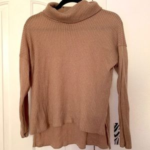 Tan Turtle Neck (Forever 21)